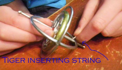 Inserting
